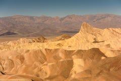 Punto de Zabriskie, Death Valley California Imagen de archivo libre de regalías