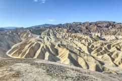 Punto de Zabriskie en el parque nacional de Death Valley, California fotos de archivo