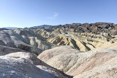 Punto de Zabriskie en el parque nacional de Death Valley, California fotografía de archivo