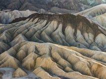 Punto Death Valley di Zabriskie immagine stock libera da diritti