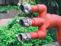 Punto del abastecimiento de agua en la calle Fotos de archivo libres de regalías