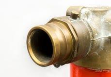 Punto del abastecimiento de agua Equipo para la lucha contra el fuego Foto de archivo libre de regalías