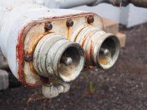 Punto del abastecimiento de agua para la emergencia Foto de archivo