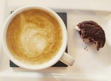 In punto del caffè Fotografia Stock