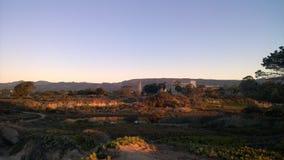 Punto del campus de la salida del sol Imagenes de archivo