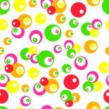 Punto 6 del color de agua Foto de archivo