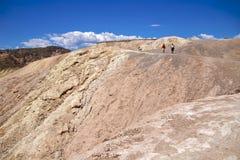 Punto del Death Valley Zabriskie Fotografie Stock Libere da Diritti