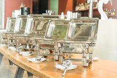 Punto del foco selectivo en comida fría del abastecimiento en restaurante del hotel Fotos de archivo libres de regalías