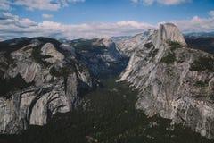 Punto del ghiacciaio di Yosemite Immagine Stock Libera da Diritti