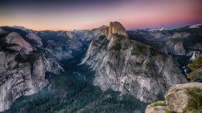Punto del ghiacciaio - parco nazionale di Yosemite Immagine Stock