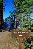 Punto del glaciar foto de archivo libre de regalías