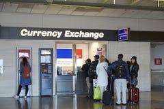 Punto del intercambio de moneda Foto de archivo libre de regalías