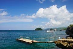 Punto del paisaje en la isla de Boracay Fotos de archivo