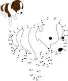 Punto del punto 2 del perrito stock de ilustración