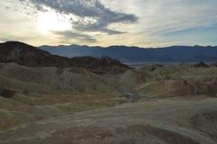 Punto del ` s de Zabriskie en Death Valley California Fotos de archivo