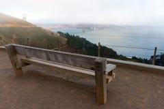 Punto del vista de puente Golden Gate Fotos de archivo