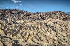 Punto del zabriskie de Death Valley Foto de archivo