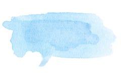 Punto dell'acquerello - fondo dell'estratto dell'acquerello degli azzurri vernice royalty illustrazione gratis