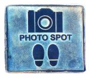 Punto della foto fotografia stock