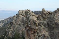 Punto della roccia Fotografia Stock