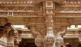 Punto di Adalaj bene in Ahmadabad, India fotografia stock