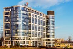 Punto di affari di Katowice Fotografie Stock Libere da Diritti