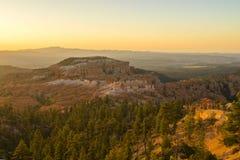 Punto di alba in Bryce Canyon fotografia stock libera da diritti
