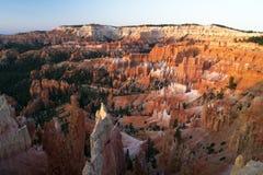 Punto di alba in Bryce Canyon immagine stock libera da diritti