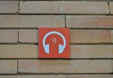 Punto di Audioguide Fotografia Stock