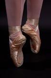 Punto di balletto Fotografie Stock Libere da Diritti