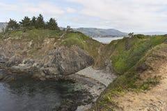 Punto di Chetco sul litorale del sud dell'Oregon immagini stock