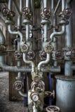 Punto di collegamento del tubo Fotografia Stock Libera da Diritti
