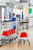 Punto di controllo di obbligazione dell'aeroporto Immagini Stock Libere da Diritti