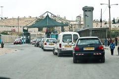 Punto di controllo israeliano Fotografia Stock Libera da Diritti