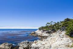 Punto di Cypress, un azionamento da 17 miglia Fotografia Stock Libera da Diritti