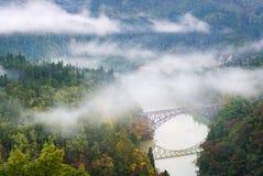 Punto di Fukushima First Bridge View fotografia stock