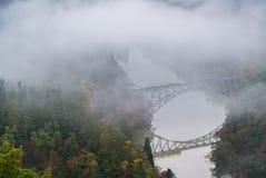 Punto di Fukushima First Bridge View fotografia stock libera da diritti