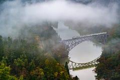 Punto di Fukushima First Bridge View immagine stock libera da diritti