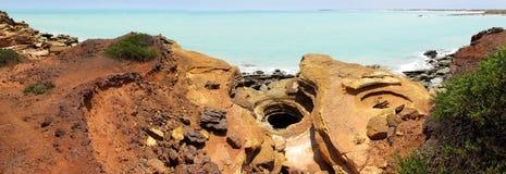 Punto di Gantheaume, Broome, Australia occidentale Fotografia Stock