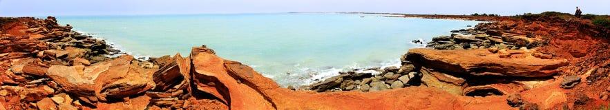 Punto di Gantheaume, Broome, Australia occidentale Fotografie Stock Libere da Diritti