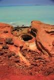 Punto di Gantheaume, Broome, Australia occidentale Fotografia Stock Libera da Diritti