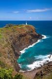Punto di Kilauea, Kauai, Hawai Immagini Stock