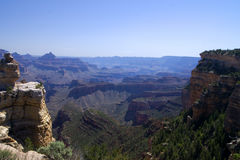 Punto di Moran, grande canyon fotografia stock