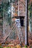 Punto di osservazione della fauna selvatica Fotografia Stock Libera da Diritti