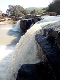 Punto di picnic della diga di Khasada Fotografia Stock Libera da Diritti