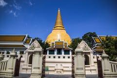 Punto di riferimento buddista di storia della Tailandia Immagine Stock Libera da Diritti