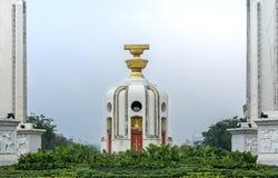 Punto di riferimento del monumento di democrazia a Bangkok Immagini Stock