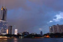 Punto di riferimento del Siam dell'icona nuovo in Tailandia immagini stock