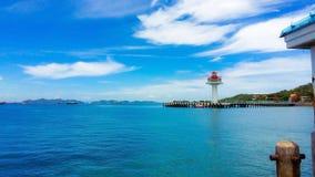 Punto di riferimento dell'isola di Sichang in Chonburi, Tailandia immagine stock libera da diritti
