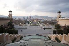 Punto di riferimento di Barcellona Fotografie Stock Libere da Diritti